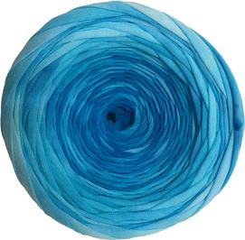 Сине-голубой батик