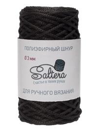 шнур Saltera черный (02) 100 метров